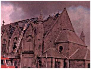 1979 Stonefield Parish Church fire