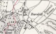 1935 Barnhill map