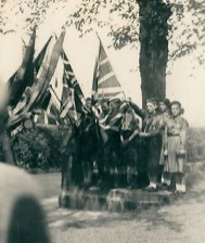 1950 May 4th Blantyre Guides and Scouts at Anderson Church, Blantyre