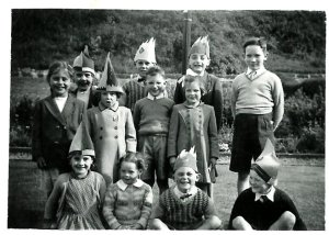 1953 Blantyre Coronation party