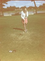 1969 August. Janet Duncan at Blantyre Stonefield Park