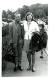 1969 Joe Veverka and Janet Duncan at Luss Highland Games