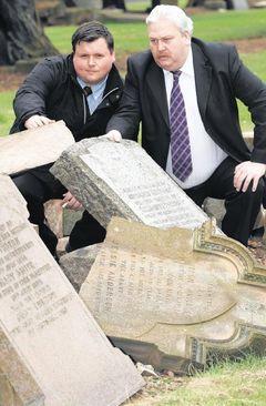Councillors step up to Vandalism
