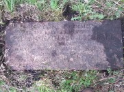 2014 Cochranes Chapel Plaque before cleaned