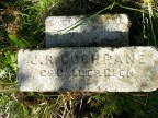 2014 Cochrane Chapel stone cleaned by Alex Rochead