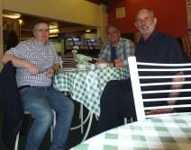 2015 Gordon Cook, Paul Veverka & Alex Rochead April at DL cafe