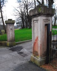 2009 Caldergrove Entrance Pillars by Jim Brown