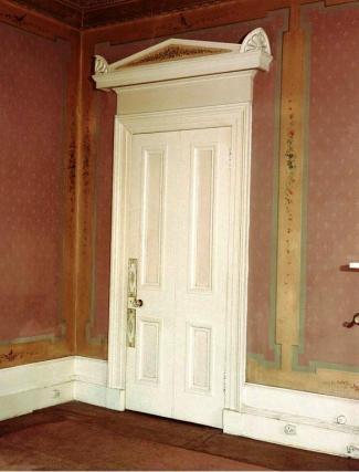 1982 Door at Caldergrove House