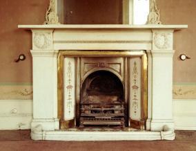 1982 Fireplace in NE room Caldergrove House