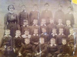 1896 Ness's Low Blantyre Primary school sent un by Susan Dunsmuir
