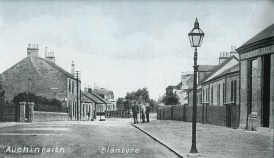 1910 High Blantyre Main Street showing Apocathery Hall (PV)