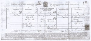 1914 Young Helen Dolan's Birth Certificate