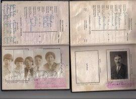 1929 Tom Dolan passport. 1930 Helen Girvin & Children passport