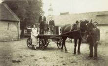 1942 The Rocheads at Broompark Farm