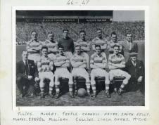 1946 Blantyre Celtic Blantyre Celtic team of 46-47 picture taken at Hampden park