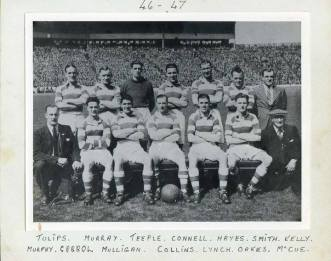 1946 Blantyre Celtic Blantyre Celtic team of 46-47 picture taken at Hampden park
