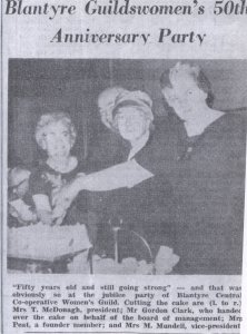 1950 Blantyre Women's Guild