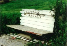 Fin me oot seat, Caldervale