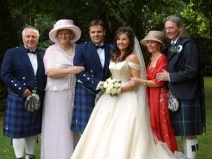 2006 My parents, me, Paula and Paula's parents