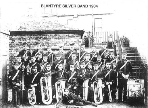 1904 Auchinraith Silver band