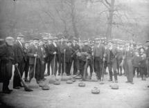 1900 Alex McWilliam & Blantyre Curling Team, sent in by Arlene Green