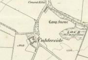 1859 Map of Calderside Farm