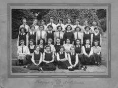 1955 Elmwood School, where half of these girls were from Blantyre