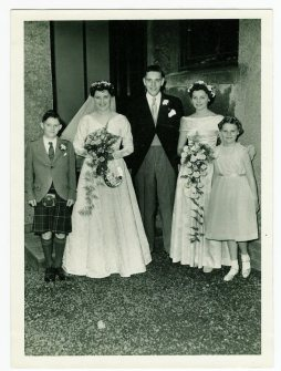 1957 The Duncans at Anderson Church
