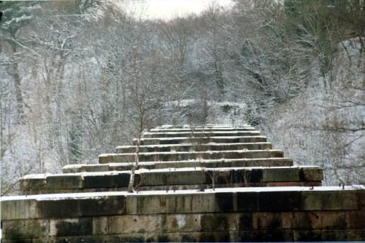1984 Greenhall Railway Viaduct photo by Gordon Cook