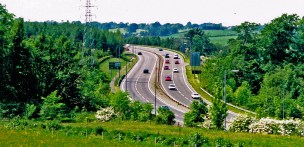 1996 A725 Expressway above Basket by RDS