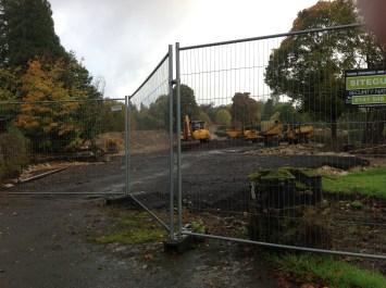 2013 October Crossbasket Nursery Excavations start (PV)