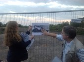 4th September 2014 Pamela and Gordon at the Pit Explosion site of 1877