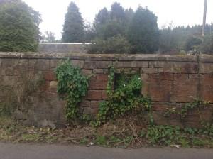 2014 Post Box in the wall, Calderwood Lodge