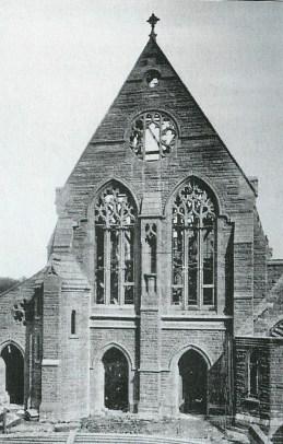 1905 Construction of St Joseph's Chapel, Blantyre