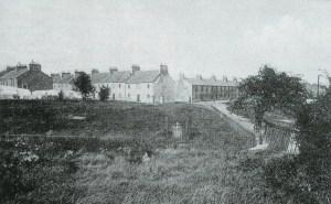 1925 Blantyre Works Village. Cross Row, Waterloo Row, Fore Row