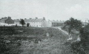 1925 Blantyre Works Village. Cross Row, Waterloo Row, Fore Row
