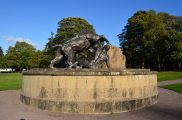 2014 David Livingstone Lion Statue by Andy Bain