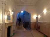 2014 Crossbasket Castle Hallway being restored