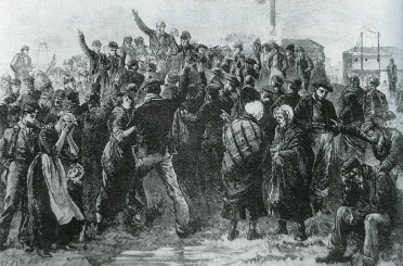 1877 Calling for Volunteers to go down the burning pit (PV)