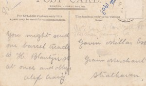 1905 Rear of Stonefield Postcard. Shared by A Rochead