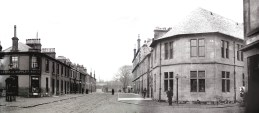 1905 Kirkton and Main Street Panorma. Stiched from D Ritchie photos by PV