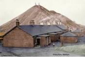 1930's Priory Row Miners Houses & Bing