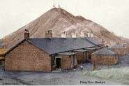 1930's Priory Row Miners Houses & Bing