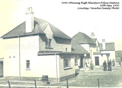1950 10th May opening High Blantyre Police Station