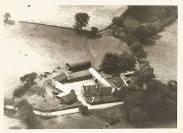 1960 Calderside Farm aerial view shared by Jim Cochrane