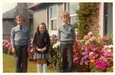 1979 Paul, Joanne Veverka & Graham Ritchie
