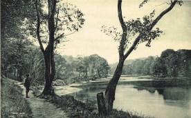 1900s Ferry Path. Boat crossing to Boatland, Blantyre