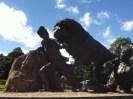 2013 David Livingstone Statue with lion (PV)