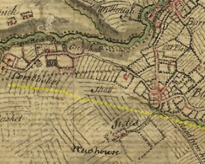 1747 Greenhall Map