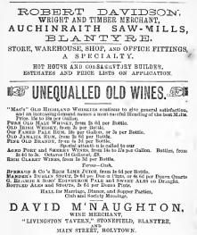 1879 Naismiths Directory Adverts